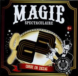 MAGIC TRICKS ACCESSORIES -  SPECTACULAR MAGIC - ZIG-ZAG ROPE