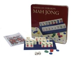 MAH-JONGG -  MAH-JONGG GAME AMERICAN VERSION