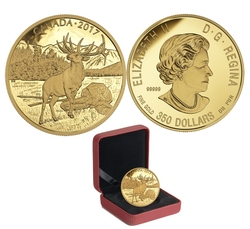 MAJESTIC ANIMALS -  THE MAJESTIC ELK -  2017 CANADIAN COINS 03