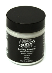 MAKEUP SEALER -  WHITE - 1OZ / 28GM -  SETTING POWDER