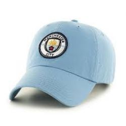 MANCHESTER CITY FC -  LOGO ADJUSTABLE CAP - LIGHT BLUE