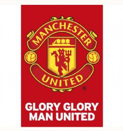 MANCHESTER UNITED FC -  GLORY TEAM CREST (22