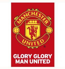 MANCHESTER UNITED FC -  GLORY TEAM CREST (22