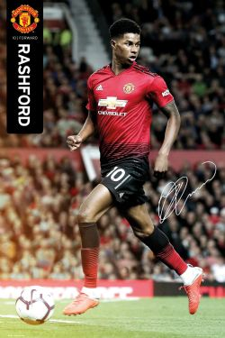 MANCHESTER UNITED -  MARCUS RASHFORD #10 POSTER (24