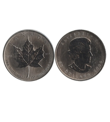 MAPLE LEAVES -  1 OUNCE FINE PALLADIUM COIN