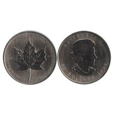 MAPLE LEAVES -  1 OUNCE FINE PALLADIUM COIN