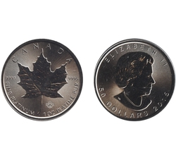 MAPLE LEAVES -  1 OUNCE FINE PLATINUM COIN