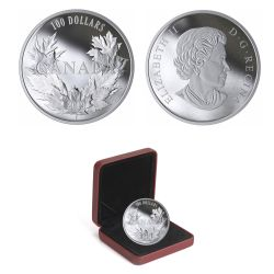 MAPLE LEAVES -  CANADIAN MAPLES -  2019 CANADIAN COINS