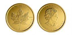 MAPLE LEAVES -  GOLD MAPLE LEAF – W MINT MARK (WINNIPEG) -  2020 CANADIAN COINS