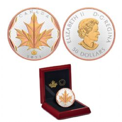 MAPLE LEAVES -  MAPLE LEAVES IN MOTION -  2021 CANADIAN COINS 05