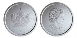 MAPLE LEAVES -  SILVER MAPLE LEAF – W MINT MARK (WINNIPEG) -  2020 CANADIAN COINS