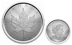 MAPLE LEAVES -  SILVER MAPLE LEAF – W MINT MARK (WINNIPEG) -  2021 CANADIAN COINS 02