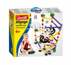 MARBLE RUN -  DOUBLE SPIRAL (MULTILINGUAL)