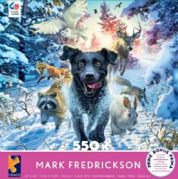MARK FREDRICKSON -  BLACK LAB (550 PIECES)