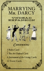 MARRYING MR. DARCY -  UNDEAD EXPANSION FOR MARRYING MR. DARCY