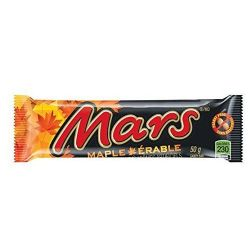 MARS -  CHOCOLATE BAR - MAPLE (50G)