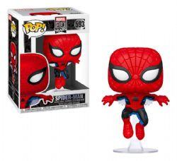 MARVEL 80 YEARS -  POP! VINYL BOBBLE-HEAD OF SPIDER-MAN (4 INCH) 593