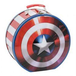 MARVEL -  CAPTAIN AMERICA'S SHIELD TIN BOX