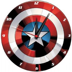 MARVEL -  CAPTAIN AMERICA'S SHIELD WALL CLOCK
