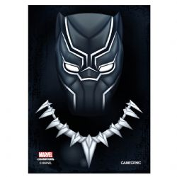 MARVEL CHAMPIONS : THE CARD GAME -  BLACK PANTHER SLEEVES (50)