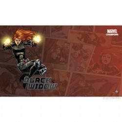 MARVEL CHAMPIONS : THE CARD GAME -  BLACK WIDOW GAME MAT (24