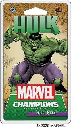 MARVEL CHAMPIONS : THE CARD GAME -  HULK (ENGLISH)