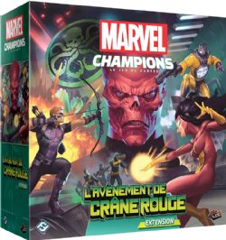 MARVEL CHAMPIONS : THE CARD GAME -  L'AVÈNEMENT DE CRÂNE ROUGE (FRENCH)