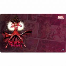 MARVEL CHAMPIONS : THE CARD GAME -  SCARLET WITCH GAME MAT (24