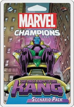 MARVEL CHAMPIONS : THE CARD GAME -  THE ONCE AND FUTURE KANG (ENGLISH)