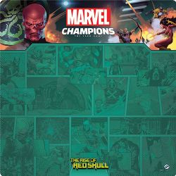 MARVEL CHAMPIONS : THE CARD GAME -  THE RISE OF RED SKULL PLAYMAT (26