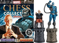 MARVEL CHESS COLLECTION -  PROFESSOR X & APOCALYPSE (MAGAZINE AND FIGURINE) -  SPECIAL COLLECTION 5