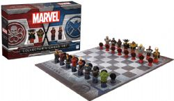 MARVEL -  COLLECTOR'S CHESS SET