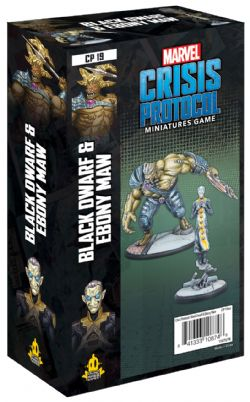 MARVEL : CRISIS PROTOCOL -  BLACK DWARF AND EBONY MAW (ENGLISH)