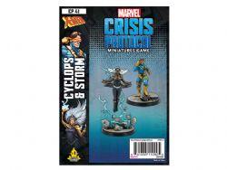MARVEL : CRISIS PROTOCOL -  CYCLOPS & STORM (ENGLISH)