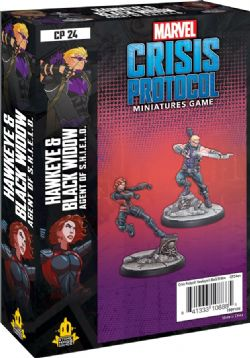 MARVEL : CRISIS PROTOCOL -  HAWKEYE AND BLACK WIDOW (ENGLISH)