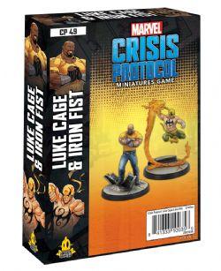 MARVEL : CRISIS PROTOCOL -  LUKE CAGE & IRON FIST (ENGLISH)
