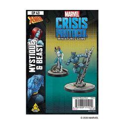 MARVEL : CRISIS PROTOCOL -  MYSTIQUE & BEAST (ENGLISH)