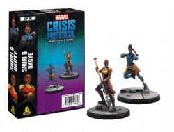 MARVEL : CRISIS PROTOCOL -  OKOYE AND SHURI CHARACTER PACK (ENGLISH)