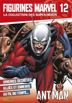 MARVEL -  FIGURE AND MAGAZINE - ANT MAN -  LA COLLECTION DES SUPER-HÉROS 12