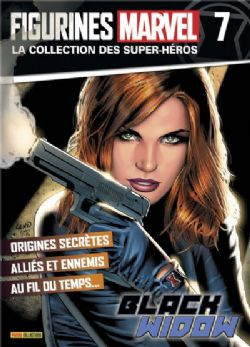 MARVEL -  FIGURE AND MAGAZINE - BLACK WIDOW -  LA COLLECTION DES SUPER-HÉROS 07