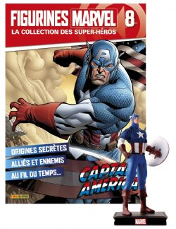 MARVEL -  FIGURE AND MAGAZINE - CAPTAIN AMERICA -  LA COLLECTION DES SUPER-HÉROS 08