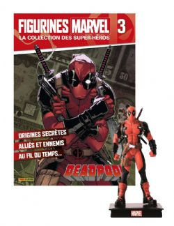MARVEL -  FIGURE AND MAGAZINE - DEADPOOL -  LA COLLECTION DES SUPER-HÉROS 03