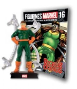 MARVEL -  FIGURE AND MAGAZINE - DOCTEUR OCTOPUS -  LA COLLECTION DES SUPER-HÉROS 16
