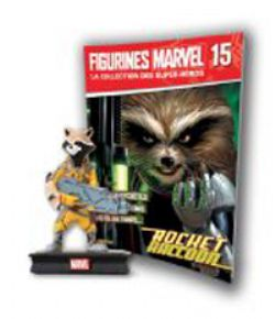MARVEL -  FIGURE AND MAGAZINE - ROCKET RACCOON -  LA COLLECTION DES SUPER-HÉROS 15