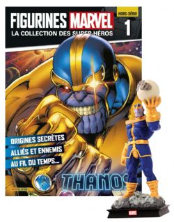 MARVEL -  FIGURE AND MAGAZINE - THANOS -  LA COLLECTION DES SUPER-HÉROS (HORS-SÉRIE) 01