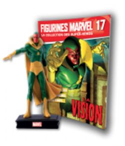 MARVEL -  FIGURE AND MAGAZINE - VISION -  LA COLLECTION DES SUPER-HÉROS 17