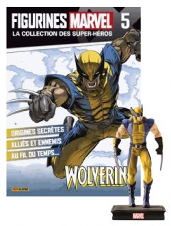 MARVEL -  FIGURE AND MAGAZINE - WOLVERINE -  LA COLLECTION DES SUPER-HÉROS 05