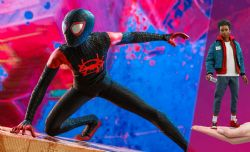 MARVEL -  MILES MORALES SIXTH SCALE FIGURE -  HOT TOYS