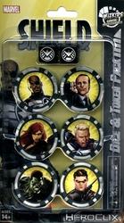 MARVEL -  S.H.I.E.L.D. DICE & TOKEN PACK -  MARVEL HEROCLIX