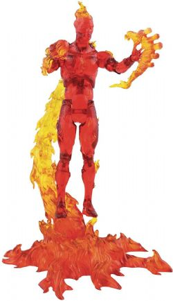 MARVEL SELECT -  HUMAN TORCH ACTION FIGURE (10 INCH)